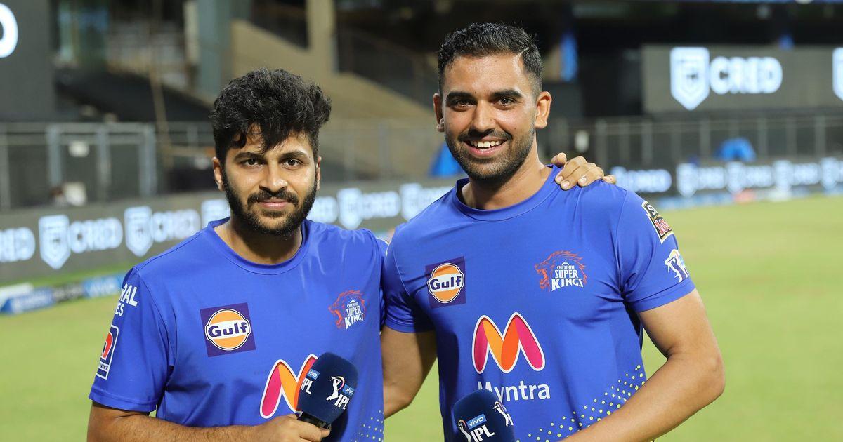 Shardul Thakur and Deepak Chahar