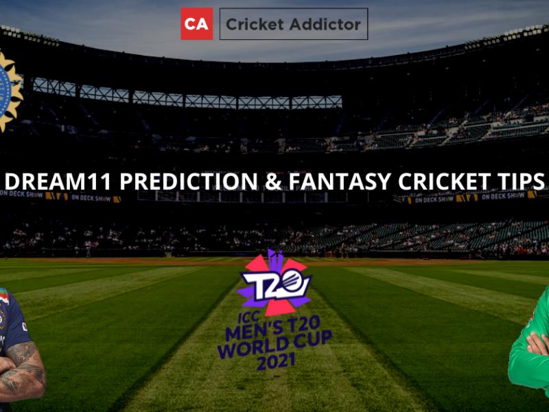 India (IND) vs Pakistan (PAK) Dream11 Prediction, Fantasy Cricket Tips, Dream11 Team- ICC T20 World Cup 2021