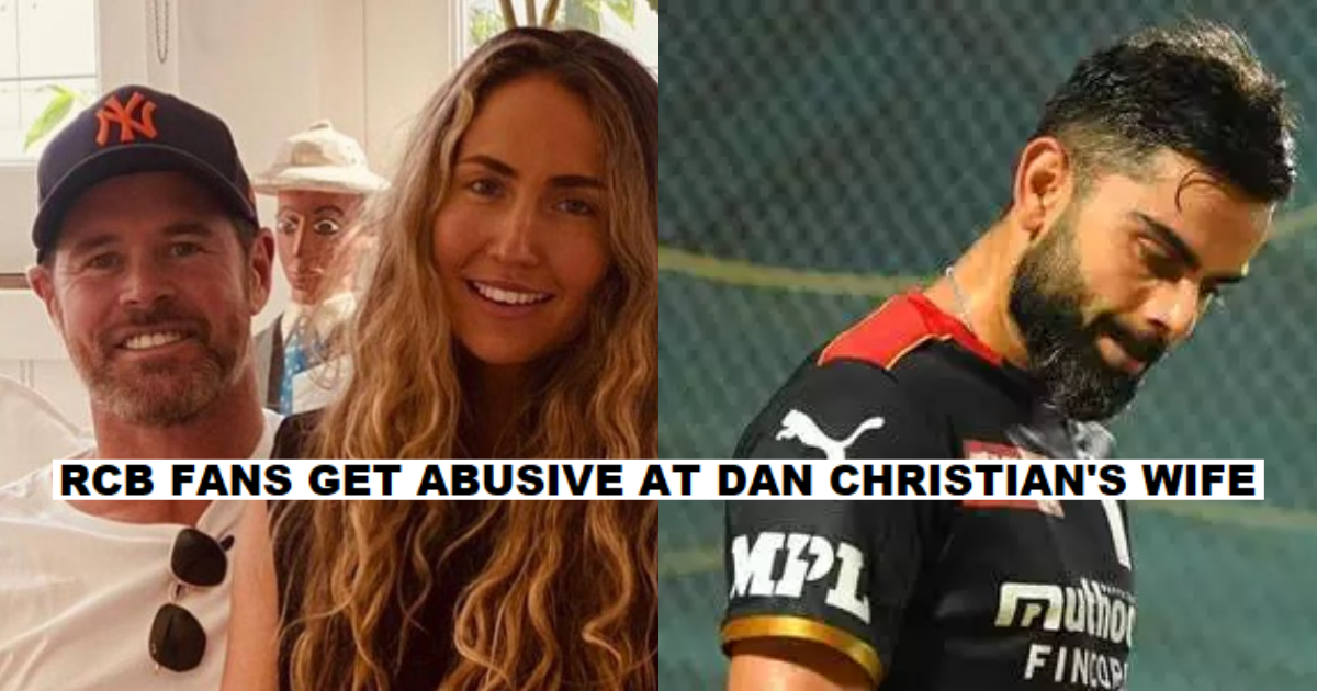 IPL 2021: Daniel Christian's Wife Abused On Instagram After RCB's Loss To KKR In The Eliminator