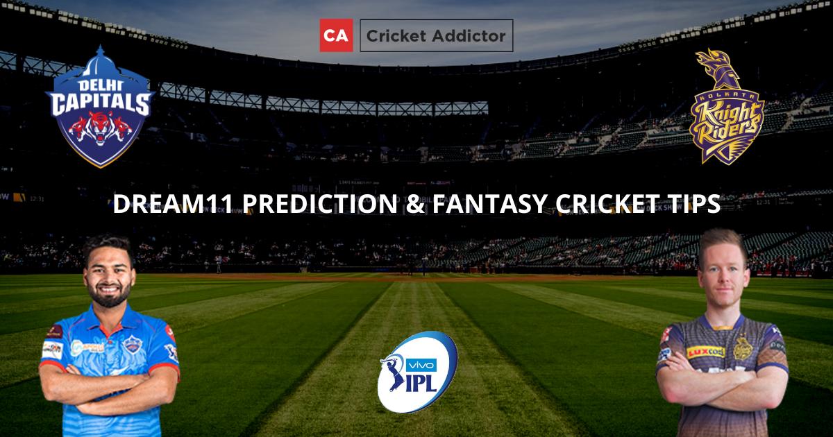 DC vs KKR Dream11 Prediction, Fantasy Cricket Tips, Dream11 Team- IPL 2021