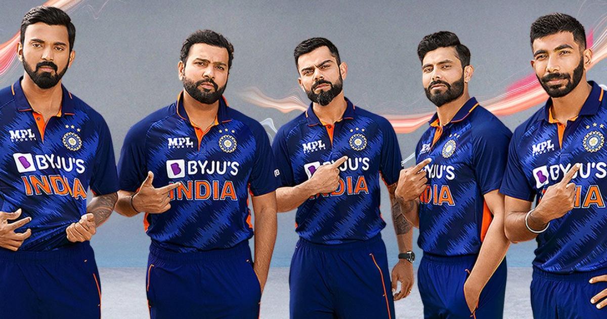 T20 World Cup 2021: BCCI ने किया आगामी विश्व कप के लिए टीम इंडिया की जर्सी का अनावरण
