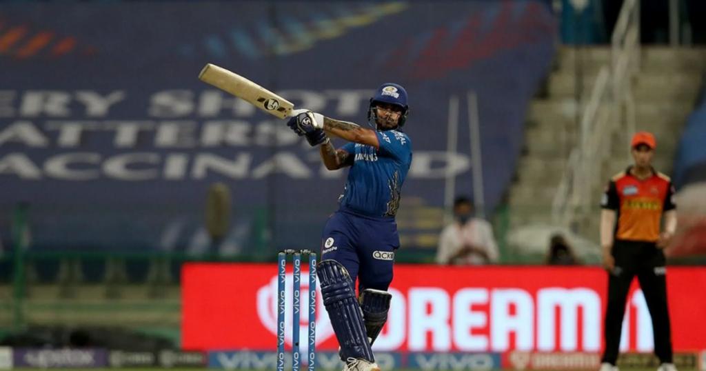 IPL 2021: ईशान किशन ने सिर्फ 16 गेंदों में बनाया IPL 2021 का सबसे तेज अर्धशतक