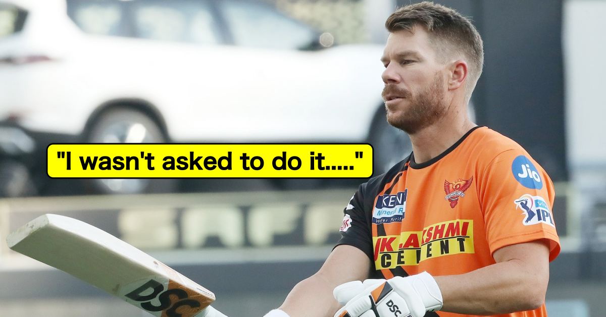 IPL 2021: David Warner Reacts After Being Left Out Of SRH's Farewell Video