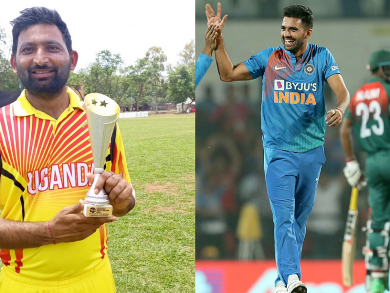Indian-Born Uganda Bowler Dinesh Nakrani Equals Deepak Chahar's Record Of Best Bowling Figures In T20Is