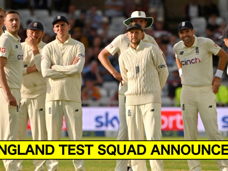 England Announce 17-Men Squad For Ashes 2021/22