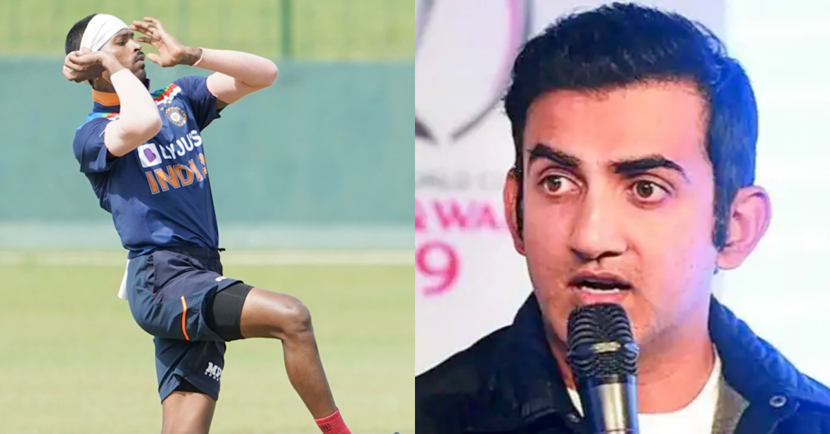 Hardik Pandya Can't Be Part Of India's Best Playing XI If He Doesn't Bowl, feels Gautam Gambhir