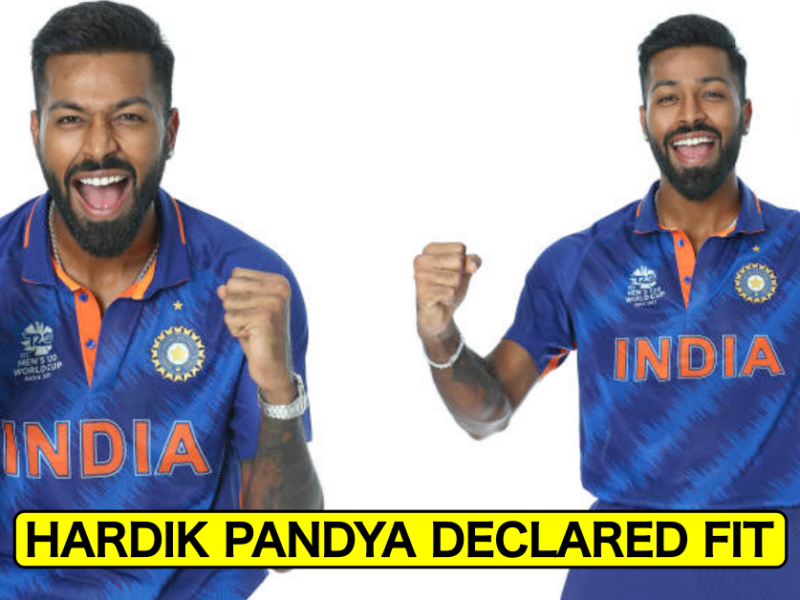 T20 World Cup 2021: Hardik Pandya Declared Fit For New Zealand Clash – Reports