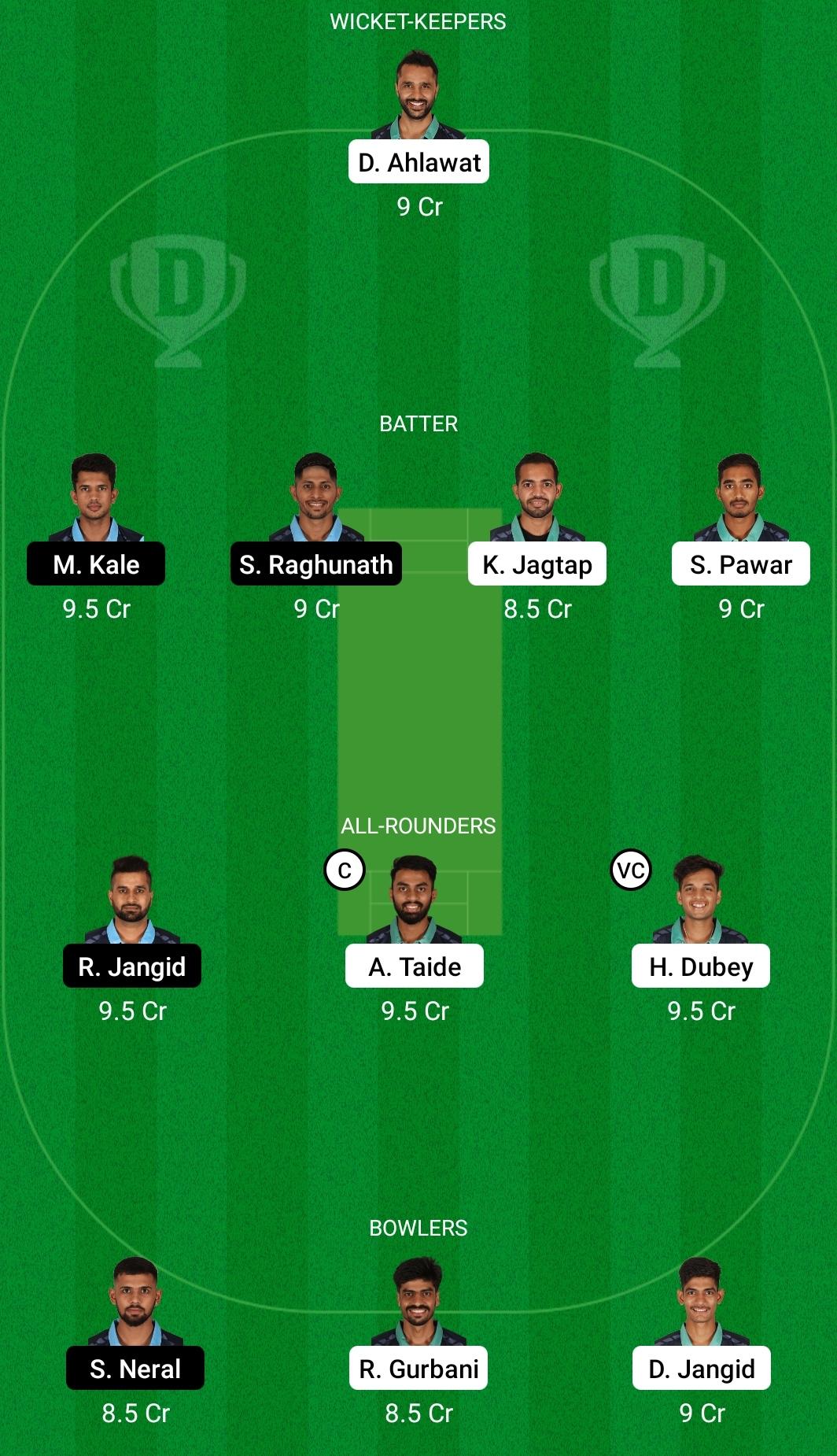 GRN vs SKB Dream11 Prediction Fantasy Cricket Tips Dream11 Team BYJU's VCA T20