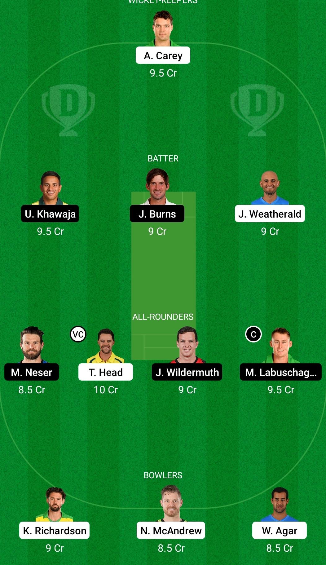 एसएयू बनाम क्यूएन ड्रीम11 प्रेडिक्शन फैंटेसी क्रिकेट टिप्स ड्रीम11 टीम ऑस्ट्रेलियन वन-डे कप