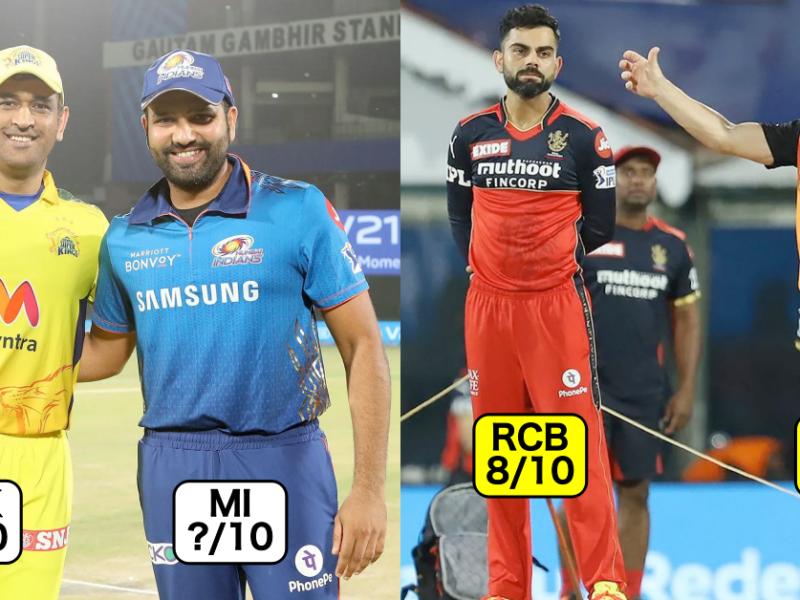 IPL 2021: Rating All Teams Based On Their Performance In The Tournament
