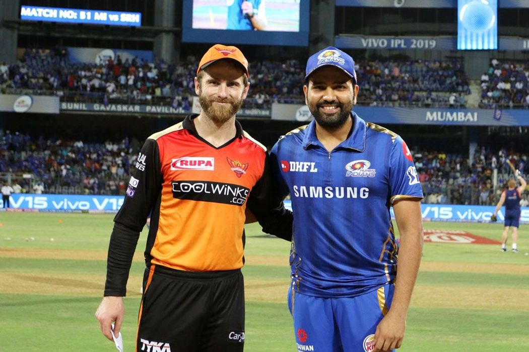 Kane Williamson and Rohit Sharma