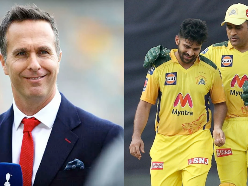 Mentor MS Dhoni Might Ask Ravi Shastri, Virat Kohli To Include Shardul Thakur In T20 World Cup Main Squad: Michael Vaughan