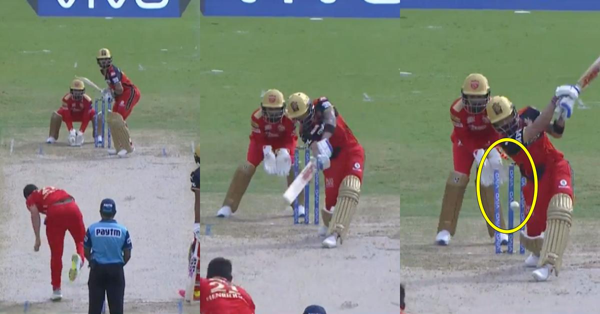 IPL 2021: Watch - Virat Kohli Loses His Off-Stump To Moises Henriques' Cutter