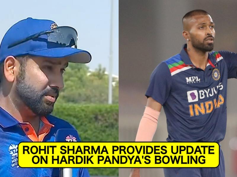 T20 World Cup 2021: Rohit Sharma Gives An Update On Hardik Pandya's Bowling