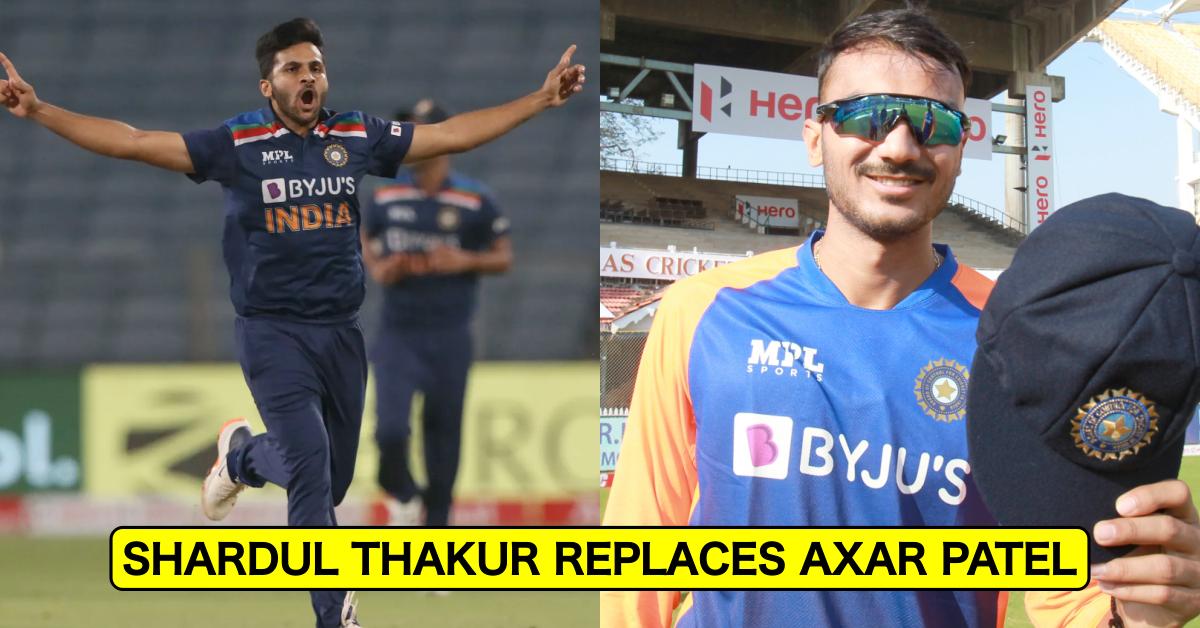 जस्ट इन: शार्दुल ठाकुर ने टी20 विश्व कप 2021 के लिए भारत की 15 सदस्यीय टीम में अक्षर पटेल की जगह ली