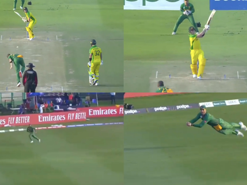 T20 World Cup 2021: Watch - Aiden Markram Takes A Stunner To Send Steve Smith Back