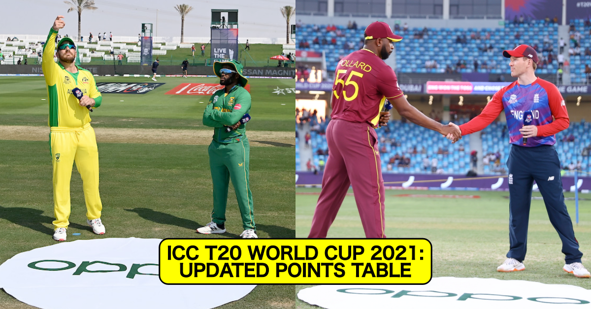 T20 World Cup 2021: Updated Super 12 Points Table After SA vs AUS, WI vs ENG