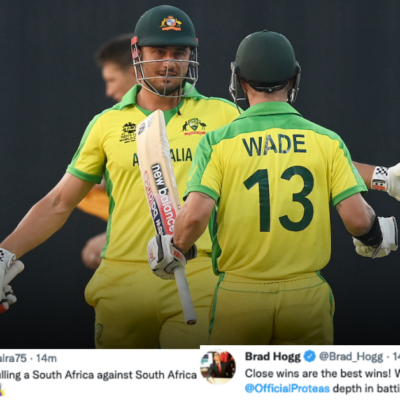 T20 World Cup 2021: Twitter Reacts As Australia Open Their Account In The Super 12 Stage With Win Over South Africa