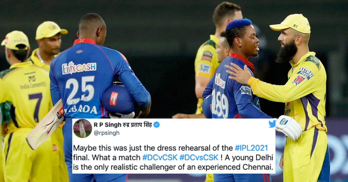 IPL 2021: Twitter Reacts As Delhi Capitals Take The Top Spot On Points Table With A Last-Over Win vs CSK