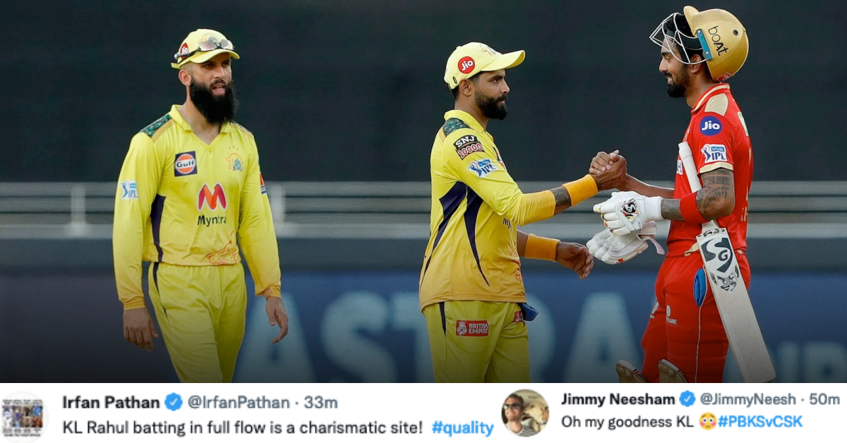 IPL 2021: Twitter Reacts as KL Rahul Inspires PBKS To A Crushing Victory Over CSK