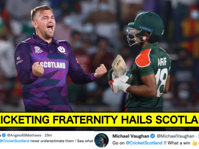 T20 World Cup 2021: Twitter Reacts As Scotland Beat Bangladesh By 6 Runs
