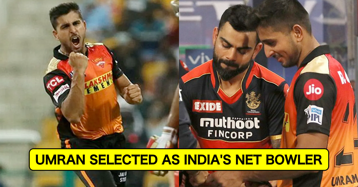 T20 World Cup 2021: Umran Malik Picked As Net Bowler For Team India After Impressive Show In IPL 2021