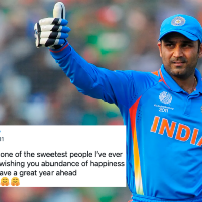 Cricketing Fraternity Pours Wishes As Virender Sehwag Celebrates His 43rd Birthday