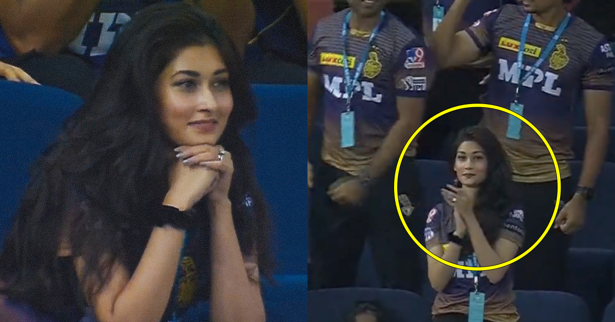 IPL 2021: Revealed - Who Is This Beautiful Woman Spotted Wearing KKR Jersey During SRH vs KKR Match In Dubai