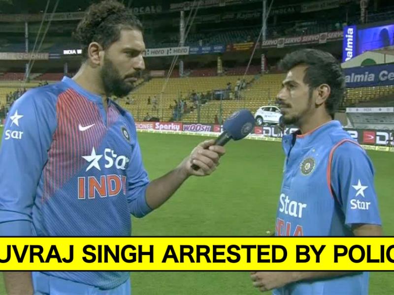 Breaking News: Yuvraj Singh Arrested For Casteist Remarks On Yuzvendra Chahal